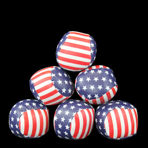 Mini Flag Baseballs