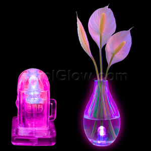 LED Waterproof Lites- Pink