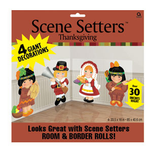 Thanksgiving Scene Setter- 65 Inch 4ct