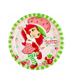 Strawberry Shortcake 9 Inch Plates- 8ct