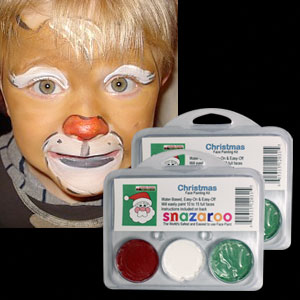 Christmas Face Paint Kit