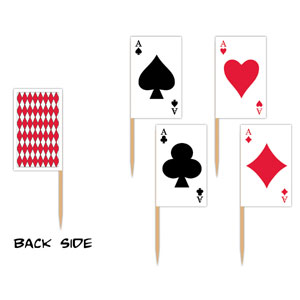 Playing Card Picks- 50ct
