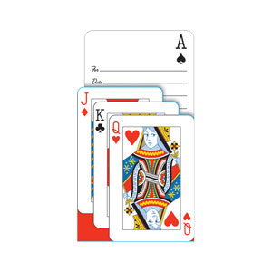 Card Night Invitations- 8ct