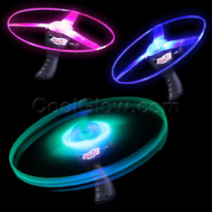 LED Flashing UFO Flyer