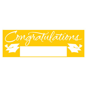 Grad Fill In Banner - Yellow
