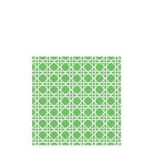 Citrus Green Cane Beverage Napkins