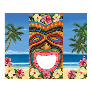 Tiki Bean Toss Game