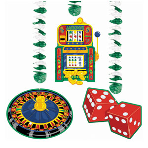 Casino Dangling Cutouts- 3ct