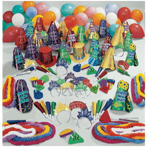 Midnight Madness New Years Party Kit for 100- 300pc