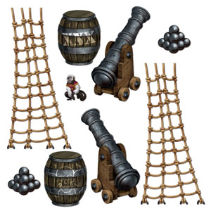 Pirate Ship Props- 9ct
