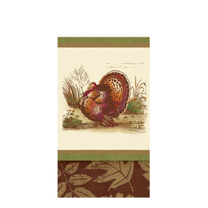 Thanksgiving Sophistication Guest Towels- 16ct