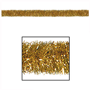 Gold Gleam n' Tinsel Garland - 100ft