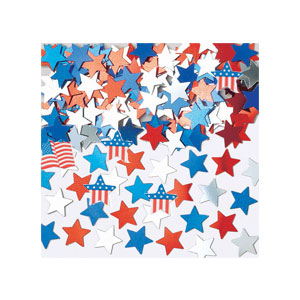 Assorted American Flag Confetti