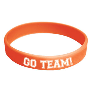 Go Team Wristband - Orange