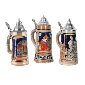 Beer Stein Cutouts - 3ct