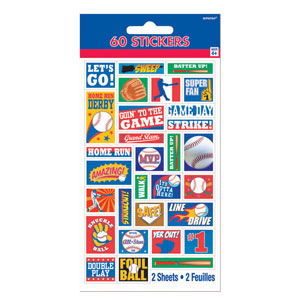Sports Stickers- 2ct
