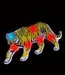 Flashing Yellow Tiger Blinky