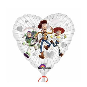Toy Story Clearly Love Balloon- 18 Inch