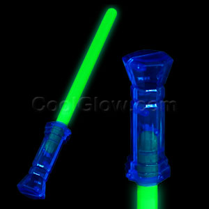 Fun Central I81 Glow in the Dark Light Saber - Green