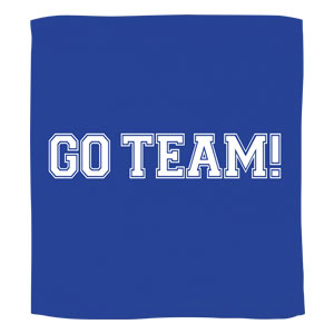 Go Team Towel - Blue