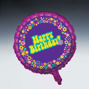 Groovy Girl Metallic Balloon