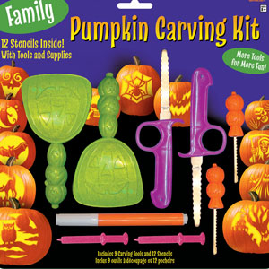 Family Pumpkin Carving Kit- 21pc
