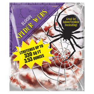 Bloody Stretchable Spider Web- 3.53oz