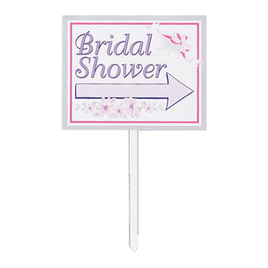 Bridal Shower Yard Signs