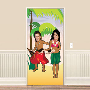 Hula Dancing Photo Banner- 72in