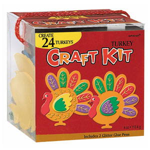 Turkey Craft Kit- 266pc