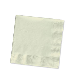 Ivory Luncheon Napkins