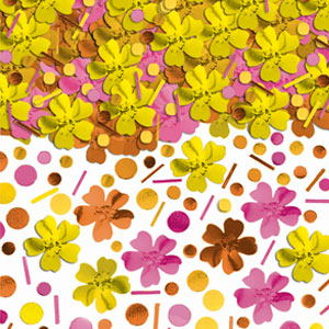 Summer Metallic Confetti- Warm