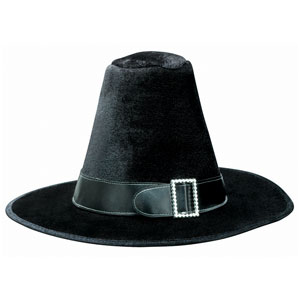 Fabric Pilgrim Hat- 10 Inch