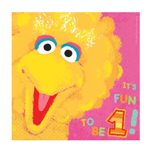 Big Bird Luncheon Napkins - 36ct