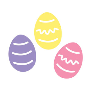 Easter Egg Cutouts - Assorted