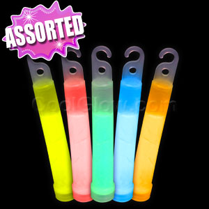 4 Inch Premium Glow Sticks - Assorted