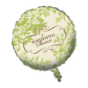 Ivory Wedding Shower Balloons
