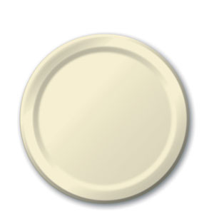 Ivory 7 Inch Plates