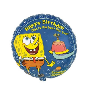 SpongeBob Happy Birthday Balloon- 18 Inch