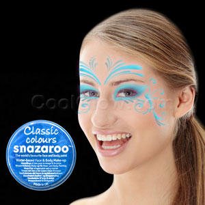 Turquoise Face Paint - 18 ml