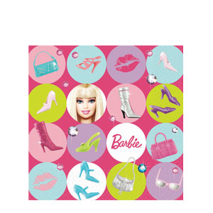 Barbie Luncheon Napkins- 16ct