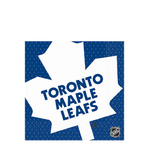 Toronto Maple Leafs Luncheon Napkins- 16ct