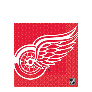Detroit Red Wings Luncheon Napkins- 16ct