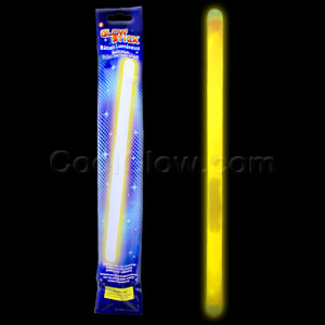 14 Inch Glow Sticks - Yellow