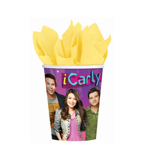 iCarly 9 oz. Cups- 8ct