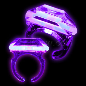 Glow Ring - Purple