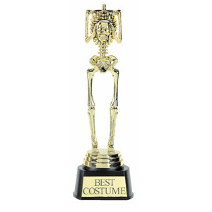 Best Costume Skeleton Trophy- 9in