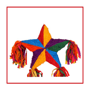 Five Point Star Pinata