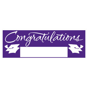 Grad Fill In Banner - Purple