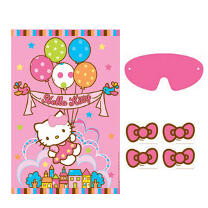 Hello Kitty Balloon Dreams Party Game- 5pc